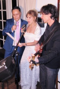 Trouwdag trouwfeest muziek